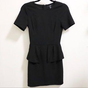 NWT H&M black dress